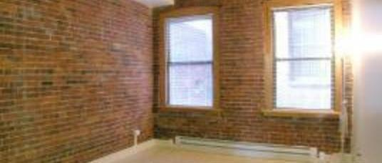 3 Bd 2 Bath North End, Elevator, Laundry, Exposed Brick, VERY large