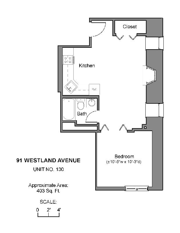 1Bd Westland, All Utils Incl., 24 Hour Concierge, Luxury, Less $ Down