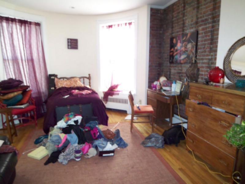 Back Bay Studio for 9/1! Elevator, Laundry, Exposed Brick