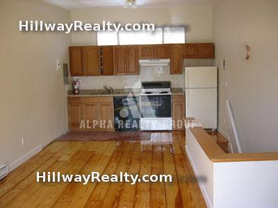 2 bed with garage parking available, on 2 floors!  Great porch, Nov 1!