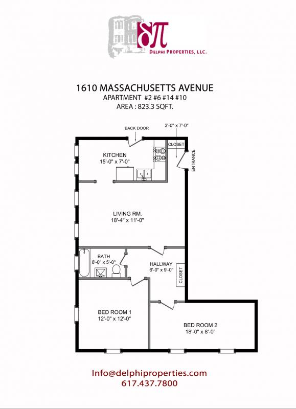 2 Bd, Pet Ok, Available 9/1, Laundry in Building, Ceramic Tiles