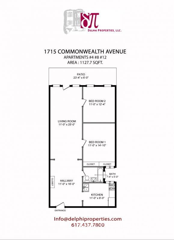 SWEET DEAL on Comm Ave. for 9/1! Pet OK, HT/HW inc. & Parking avail.!