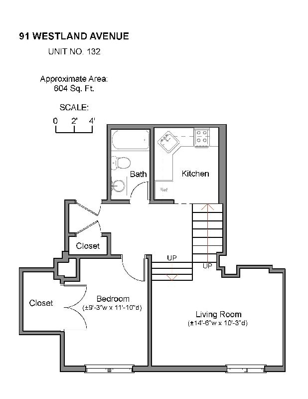 Pet friendly, renovated and large 1 bed in Fenway, 9/1