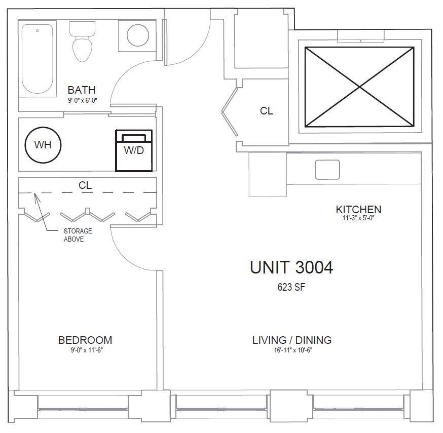1 Bed, 1 Bath apartment in North Andover for $1,725