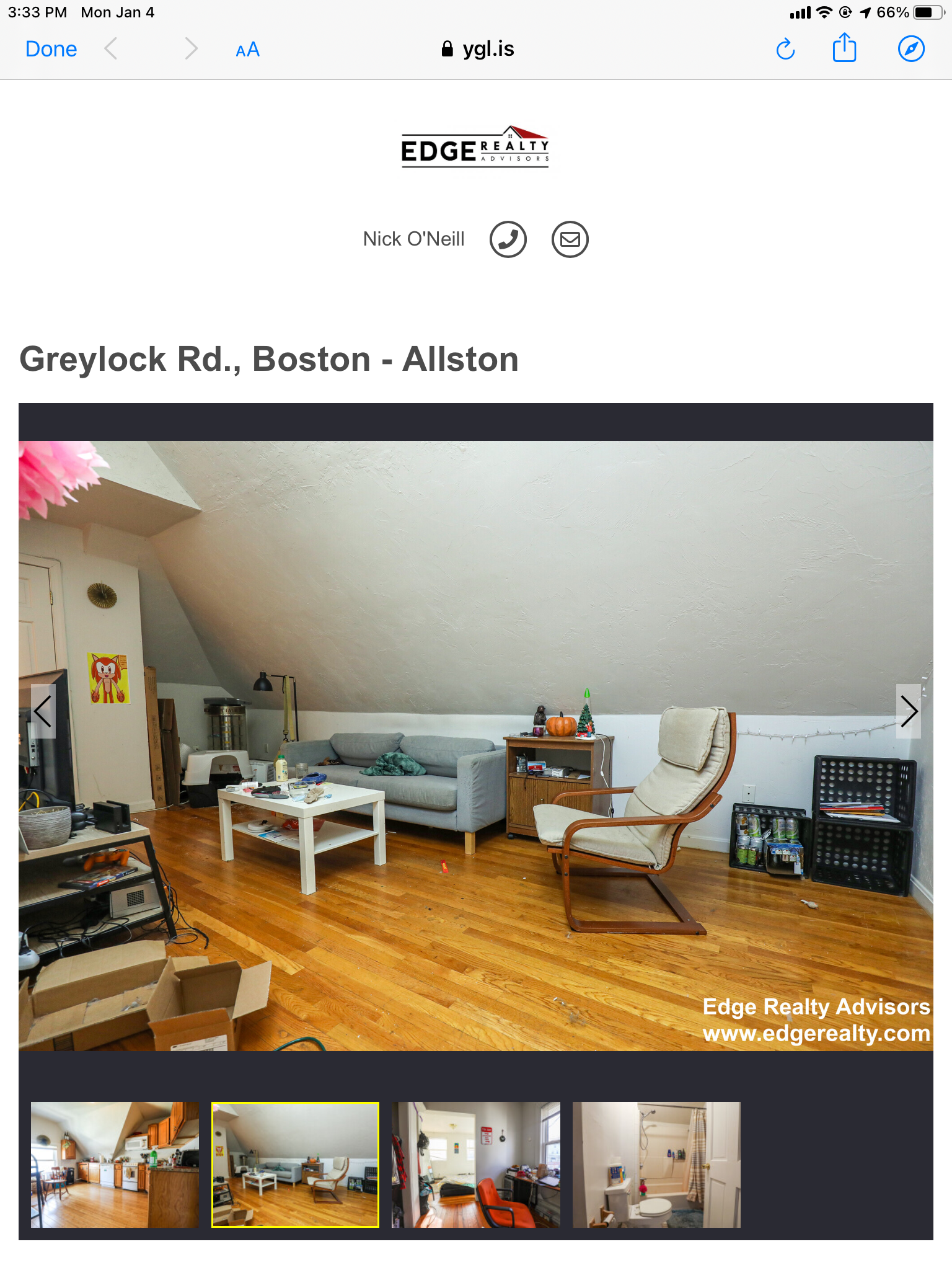 4 Beds, 1 Bath apartment in Boston, Allston for $3,600