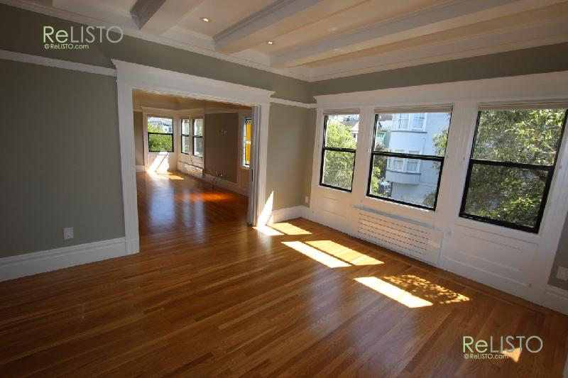 Inner Sunset | remodel | 4 bed | 1.5 bath | 1 car | yard | unfurnished