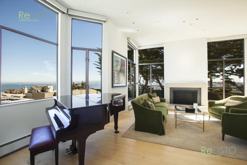 Premier Furnished Russian Hill Residence | Sweeping Bay Views | $14995